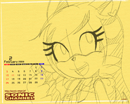 Kay the fox calendar sonic channel