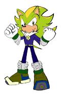 Dominick's look in Sonic Boom