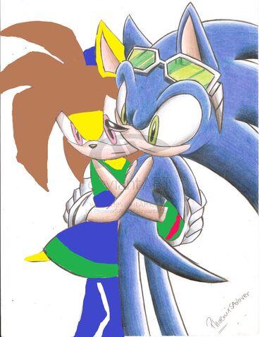 File:Sonic grab holds of Nancy.jpg