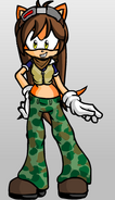 Julie's look in Sonic Boom