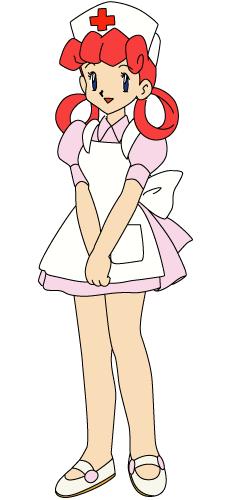 NurseJoyAnimeArt