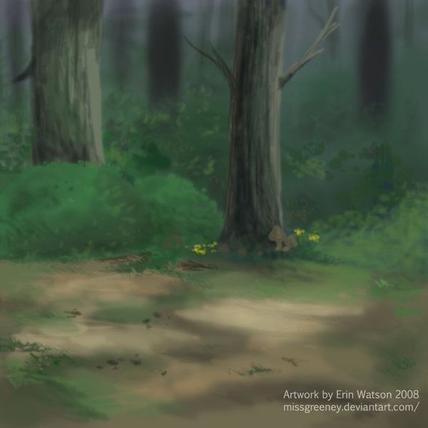 The great forest by missgreeney