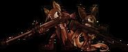 Bat girls with oversized guns by skittycat-d3hzdbl