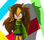 Shimmer the hedgehog by 116555-d4mbeo6