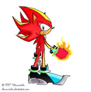Inferno the Hedgehog by Chouonsoku