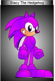 Stacy The Hedgehog