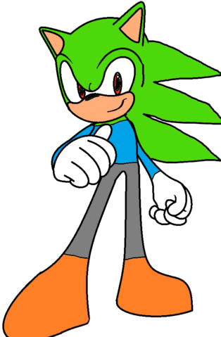 File:Damon the Hedgehog.png
