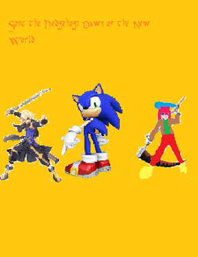 Sonic the Hedgehog Dawn of the New World cover