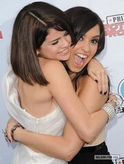 Demi and Sel