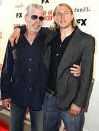 Charlie Hunnam Ron Perlman FX Networks Screening 9nKEA8t3J97l