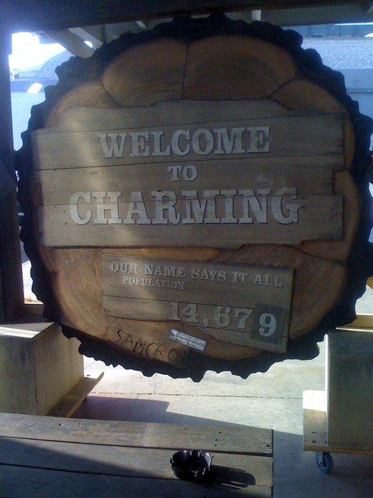 Charming Sons Of Anarchy FANDOM Powered By Wikia - Us quaint towns map