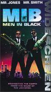 Men in Black Widescreen VHS