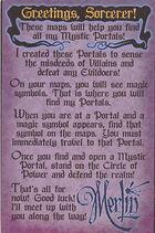 Sorcerers of the Magic Kingdom Map Instructions