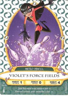 21 - Violet's Force Fields