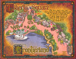 Sorcerers of the Magic Kingdom Map - Frontierland and Liberty Square