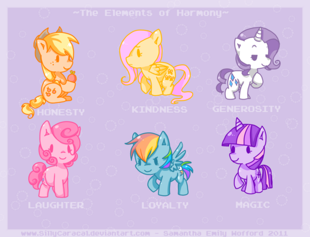 File:The Mane 6.png