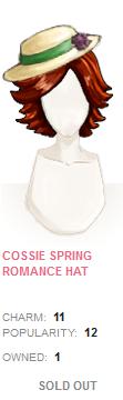 Cossie Spring Romance Hat