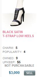 File:Black Satin T-Strap Low Heels.png