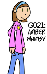 G021 - Amber Whimsy