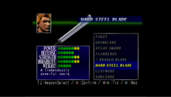 Hard Steel Blade