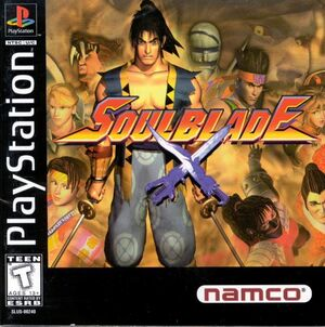 Soul Blade NA PS1 Boxart