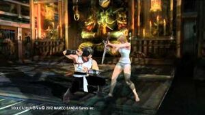 SOULCALIBUR V Rage Gameplay