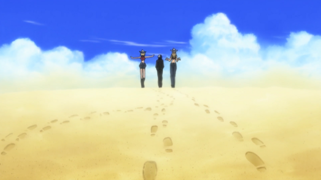 File:Soul Eater Episode 3 HD - Kid and Thompsons depart.png