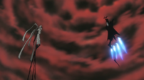 Soul Eater Episode 24 HD - Asura and Death face each other