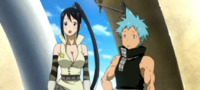 Soul Eater NOT Episode 1 - Tsubaki and Black Star