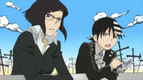 Soul Eater Episode 48 HD - Lord Death battles Asura (22)
