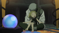 Soul Eater Episode 44 HD - Medusa and Stein face Marie and Crona (19)