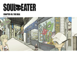 Soul Eater Chapter 45 - Cover