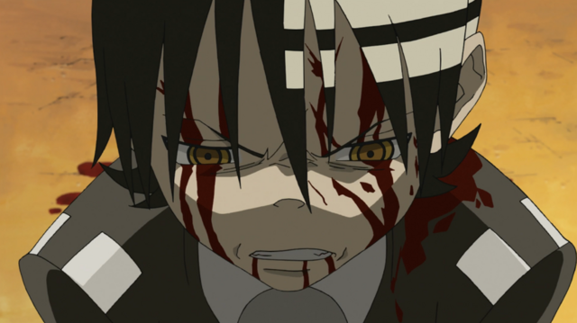 File:Soul Eater Episode 3 HD - Kid bloodied.png