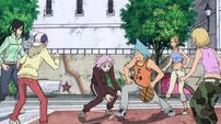 Soul Eater Episode 31 HD - Crona plays basketball 1