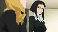 Azusa and Miss Marie