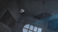 Soul Eater Episode 31 HD - Crona cries in corner of overnight room (6)