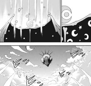 Chapter 91 - Moonlight begins launching his assault on the Demon Airship