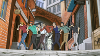 Soul Eater Episode 17 - Excalibur's New York Gang 3