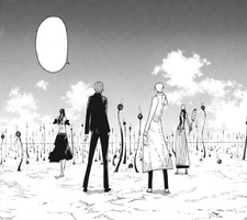 Soul Eater Chapter 97 - Stein and others wait for Clowns' regeneration