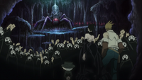 Episode 26 - Arachne as she is greeted by her followers on her rebirth