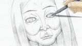 Soul Eater Episode 14 - Kid's portrait of Liz