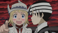 Soul Eater Episode 46 HD - Kid, Liz, Patty return to the Death Weapon Meister Academy (6)