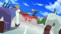Soul Eater Episode 15 - The Devils of Brooklyn hijack a car