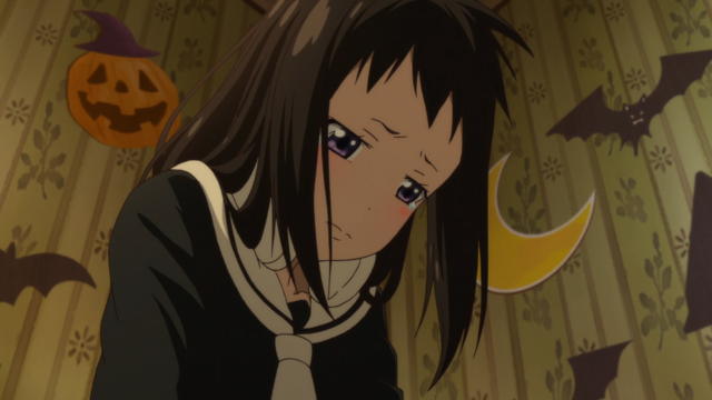File:Soul Eater NOT Episode 10 HD - Tsugumi regrets her outburst at Meme.png