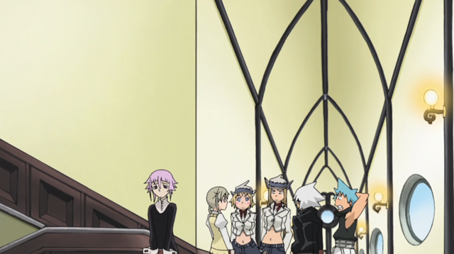 File:Soul Eater Episode 31 HD - Friends mock Maka's music 1.png