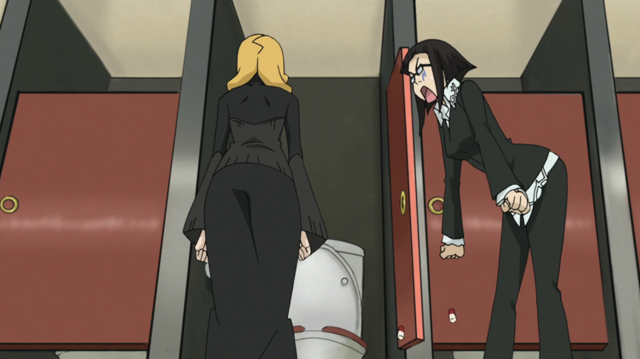 File:Soul Eater Episode 25 HD - Marie and Azusa 4.png