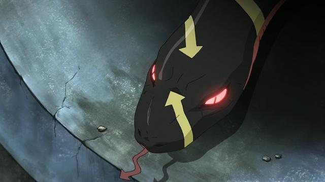 File:Soul Eater Episode 24 HD - Snake carrying Medusa's soul.png