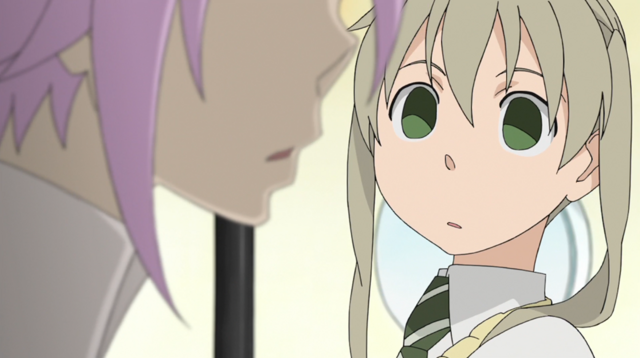 File:Soul Eater Episode 31 HD - Maka notices Crona 1.png