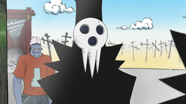 File:Soul Eater Episode 25 HD - Sid confers with Lord Death 2.png