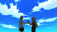 Episode 6 - Soul and Maka hold hands